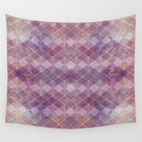 abstract pattern PK Wall Tapestry by VanessaGF