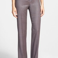 Women's Lafayette 148 New York Stretch Wool Blend Suiting Pants
