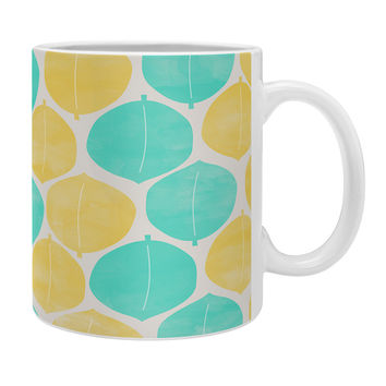 Allyson Johnson Summer Leaves Coffee Mug