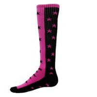 1/2 AND 1/2 CRAZY ZENITH STAR SOCKS - Softball Socks -Soccer Socks - CrossFit Socks - Youth & Adult Sizes