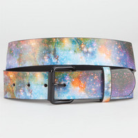 Galaxy Photo Belt Space Blue  In Sizes