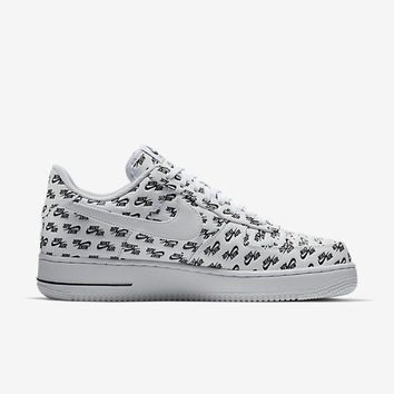 auguau NIKE AIR FORCE 1 '07 QS - WHITE/BLACK/WHITE
