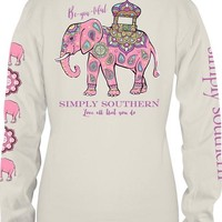 "Simply Southern ""Be-You-Tiful"" Top- Ivory"