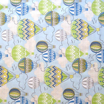 Hot Air Balloons Quilter's Weight Cotton Fabric