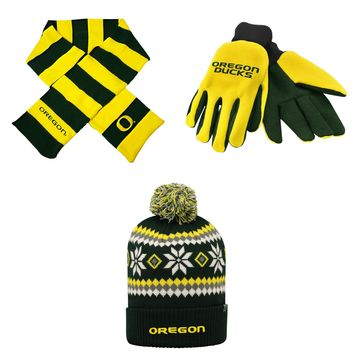 Licensed Striped Rugby Scarf Fogbow Beanie Hat And Grip Glove 67063 KO_19_1