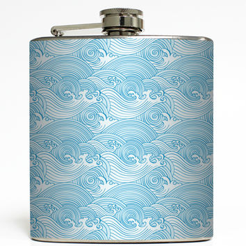 Catch a Wave - Beach Flask