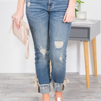 Haven Straight Fit Mid Rise Jeans