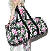 Joyrich Optical Garden Boston Bag Black One