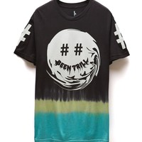 Been Trill Dipped Smirk T-Shirt - Mens Tee - Black