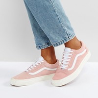 Vans Old Skool Trainers In Pink at asos.com