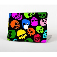 The Vivid Vector Neon Skulls Skin Set for the Apple MacBook Air 13""
