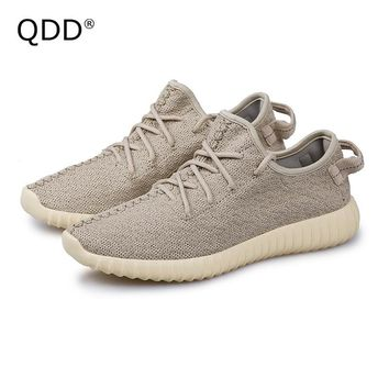 Lovers Sports Shoes 2017 Fly Knit Mesh Little Yeezys Boosts Men Tennis Shoes Men Sneakers, Tennis Shoes For Men and Women