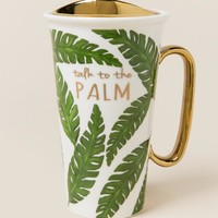Talk To The Palm Mug