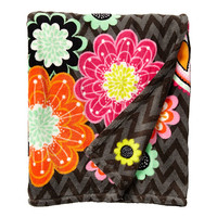 Vera Bradley Throw Blanket Ziggy Zinnia - Zappos.com Free Shipping BOTH Ways