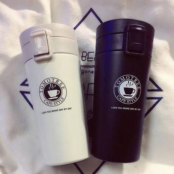 High quality new Japanese style coffee thermos coffee mug with lid cups and mugs vacuum flask thermos coffee cup pot Travel mug