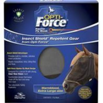 Manna Pro - Fly - Opti-force Equine Fly Mask With Insect Shield