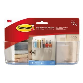 Command™ Clear Large Caddy