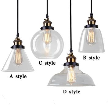 Vintage Pendant Lights Industrial Home Lighting Fixture