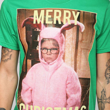 A Christmas Story Merry Christmas Tee - Urban Outfitters