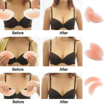 Silicone Gel Push Up Bra/Swimsuit Insert -3 Styles