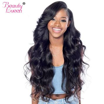 Peruvian Body Wave Bundles Hair Extension Natural Color Human Hair Bundles Weave Can Buy 3 /4 Bundle Deals Non Remy Hair