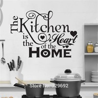 Kitchen House of Love Vinyl Wall Sticker Home Decor Stikers For Wall Decoration Kitchen Wall Stickers DIY