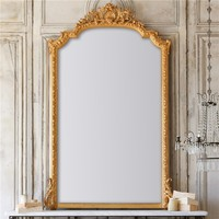 Eloquence One of a Kind Antique Mirror French Bright Gilt
