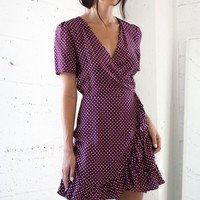 Mae Wrap Dress