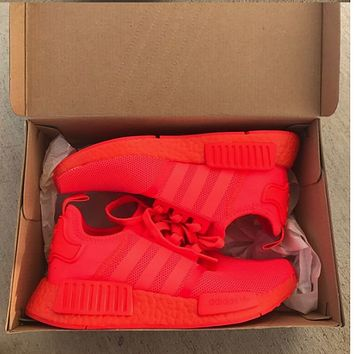 """""""ADIDAS"""" Women Running Sport Casual NMD Shoes Sneakers Red"""