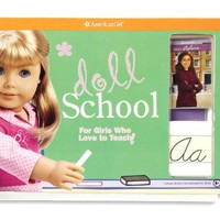 Doll School: For Girls Who Love to Teach! (American Girl) Hardcover – July 1, 2009
