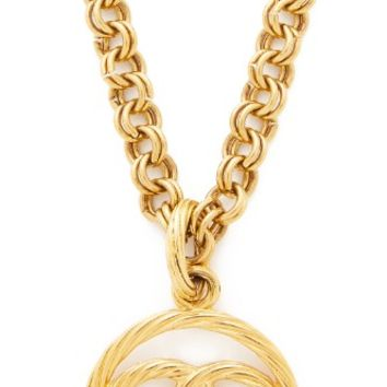 Chanel Rope CC Necklace (Previously Owned)