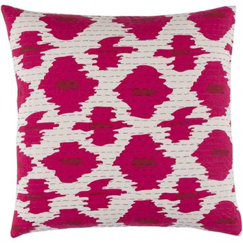 Kantha Pillow ~ Bright Pink
