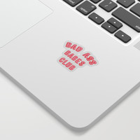 BAD ASS BABES CLUB Sticker by smuug