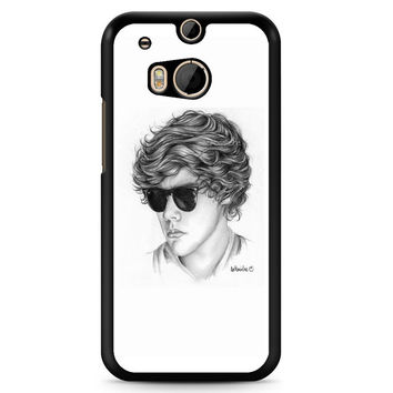 One Direction Harry Styles Art Pencil Htc M8 Case