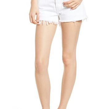 Levi's® 501® Cutoff Denim Shorts (Super Sonic) | Nordstrom