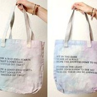 Very Awesome World Tote Bags  Bags -- Better Living Through Design