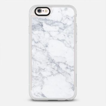 Marble white iPhone 6s Plus case by Fauzi Putra | Casetify