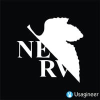 EVANGELION NERV ANIME DECAL STICKER