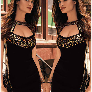 Womens Sexy Club Party Short Hip Dress