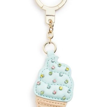 kate spade new york ice cream cone bag charm | Nordstrom