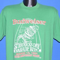 90s Budweiser St. Patrick's Day Run t-shirt Large