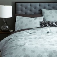 Organic Circle Dot Duvet Cover + Shams
