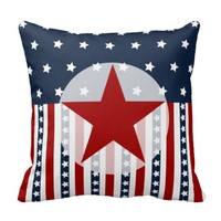 Patriotic Stars and Stripes American Flag Design