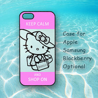 hello Kitty Cover iPhone, iPod, Samsung Galaxy, Sony, HTC, Blacberry Case