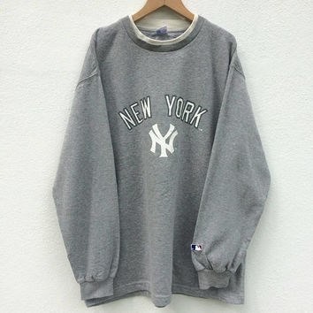 Vintage New Yankees Sweatshirt /Baseball / New Yankees / MLB/ New Yankees Jacket / Major League Baseball