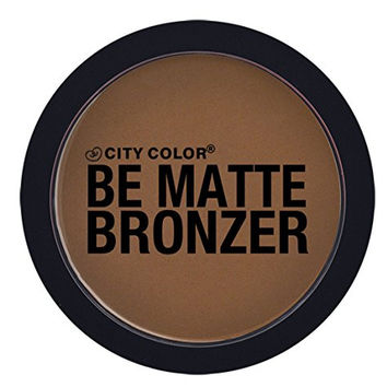 Matte Makeup Epic Cosmetic Face Powder Bronzer in Brown Sugar by City Color Great for Contouring