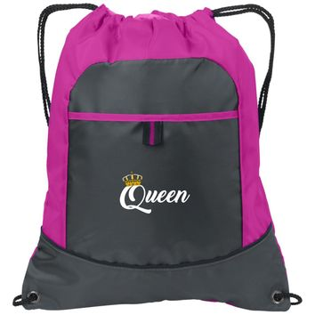 Queen Workout Towel | Trucker Hat | Drawstring Backpack