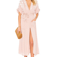 Free People Love To Love You Dress in Ivory