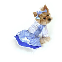 Dorothy Dog Costume - Small