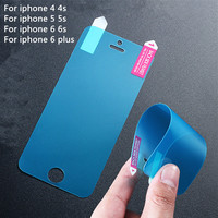 clear screen protector for apple iphone 4 4s 5 5s SE 6 6s plus 4.7&5.5inch screen protective film screen guard